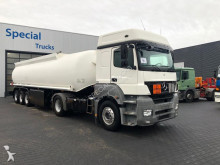 Mercedes Axor 1843 ADR unit (euro 5) + Tank oplegger Ellinghaus combination semi-trailer