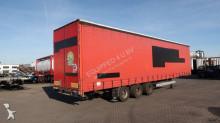semirimorchio LAG Megacurtainsider, BPW, raising-roof, hardwooden floor, timberstakes, NL-trailer