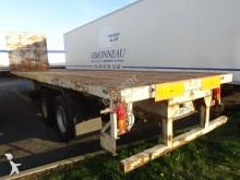 Van Hool Plateau droit , Susp MECA semi-trailer