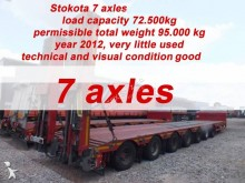 transport utilaje Stokota 7 AXLE SEMI TRAILER LOW LOADER STOKOTA S7U.H5N1-04