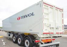 semi reboque Tisvol V=58m3 palety, zboża,węgiel, kruszywa waga od 5950 kg- 2 szt plac