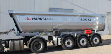 Rojo construction dump semi-trailer