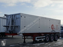 semi remorque Wielton GRAS / TIPPER 45 M3 / LIFT AXLE / FLAP-DOORS /