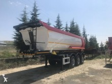 Donat half-pipe semi-trailer