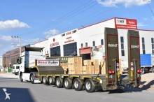 Donat heavy equipment transport semi-trailer