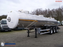 semi reboque Magyar Chemical tank inox 22.3 m3 / 1 comp / ADR 05/2019