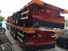 semi reboque Donat Flatbed Double Tire