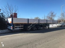 Donat beverage delivery flatbed semi-trailer