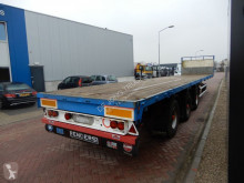 Renders Flat trailer / 2x steering axle semi-trailer