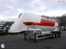Feldbinder Powder tank alu 38 m3 / 1 comp semi-trailer