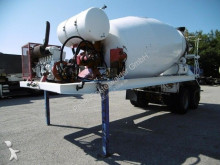 used concrete mixer + pump truck concrete semi-trailer