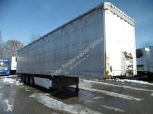 trailer Krone 3 Achs Gardine Standard Liftachse Palettenkasten