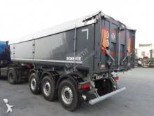 semi remorque Schmitz Cargobull SKI Benne TP ALU Calorifugé 3 ess