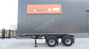 semi remorque Krone 20FT, ADR, leeggewicht: 3.120kg, NL-chassis