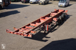 semi remorque Fruehauf Container chassis 3-assig/ 40ft, 2x20, 20