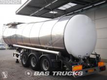 Feldbinder TSA34.3 34.000 Ltr / 1 / Pumpe Beschadigt Liftachse semi-trailer
