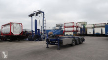 semirimorchio nc 30FT BULK TIPPING-CHASSIS + BLOWER, empty weight: 5.620kg, discbrakes