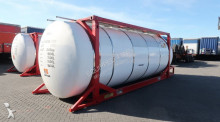 semi remorque Van Hool Tankcontainer with 4 compartments, 33.600L, L4BN, IMO-4