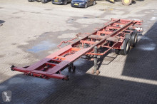 semi remorque Fruehauf Container chassis 2-assig/40ft,2x20/Full steel