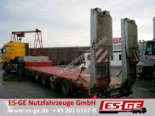 Faymonville MAX Trailer 4-Achs-Satteltieflader - tele heavy equipment transport