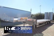 trasporto macchinari De Angelis carrellone 3 assi con rampe doppie