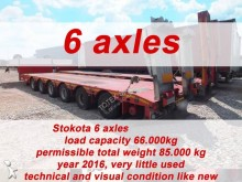 transport utilaje Stokota 6 AXLE SEMI TRAILER LOW LOADER STOKOTA S6U.H4.N1-01