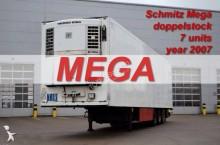 semi remorque Schmitz Cargobull SKO SEMI TRAILER REFRIGERATOR SCHMITZ SKO 24 MEGA DOPPELSTOCK