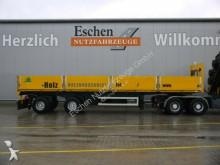 semirremolque Schmidt 2 Achs Pritsche, ausziehbar, Luft/Lift, BPW