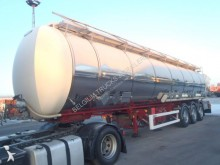 semi reboque LAG 43500 litre chauffer