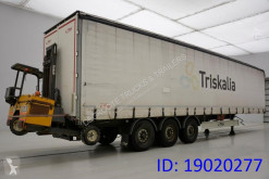 Fliegl Tautliner + forklift semi-trailer