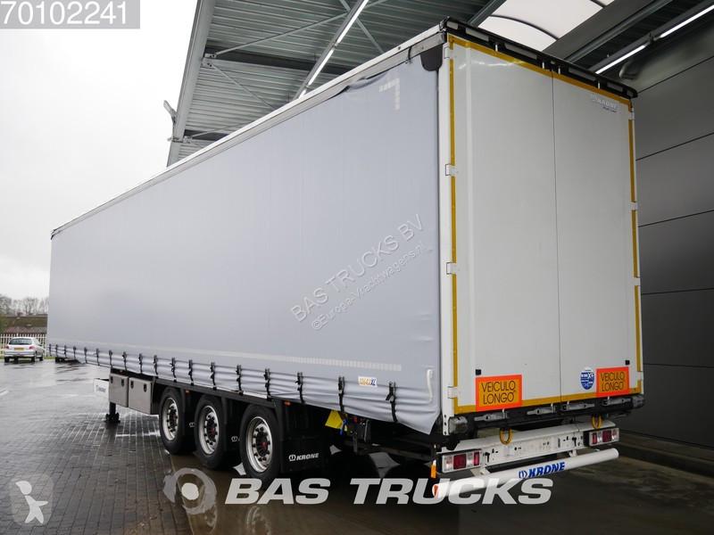 Krone SD Liftachse Hubdach Bordwande semi-trailer