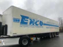 naczepa furgon do transportu odzieży używana