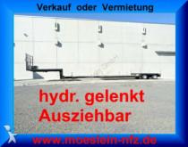 semi reboque nc 2 Achs Tiefbett Tieflader, Ausziehbar + hydr. g
