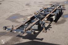 semirremolque Van Hool Container chassis 3-assig/ multi