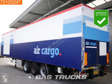 semi remorque Van Eck PT-3LNl Liftachse Aircargo-Luftfracht-Rollenbett