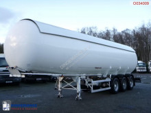 semi reboque Guhur Gas tank steel 49.1 m3