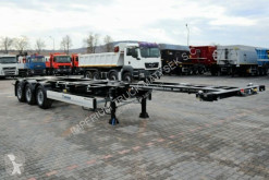 semi reboque Krone FOR CONTAINERS / ALL TYPES / UNIVERSAL/ LIFT AXL