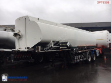 n/a Fuel tank alu 28 m3 / 5 comp + pump semi-trailer