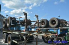 semi remorque Fruehauf 20 ft - spring suspension