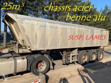 Trailor 25m³ BENNE CLINKER - 3 ESS. SMB - CHASSIS ACIER / BENNE ALU - SUSP. LAMES - STEEL CHASSIS / ALU TIPPER - STEEL SPRING semi-trailer