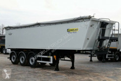 Zasław TIPPER 40 M3 / LIFTED AXLE / FLAP-DOORS / semi-trailer