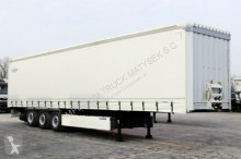 semirimorchio Krone CURTAINSIDER /STANDARD/ LIFT AXLE / PALLET BOX