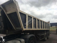 Trouillet construction dump semi-trailer