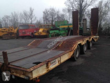 Louault heavy equipment transport semi-trailer