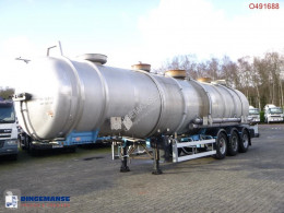 trailer Magyar Chemical / ACID tank inox 38 m3 / 3 comp