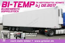 semi remorque Schmitz Cargobull SKO 24/ BI TEMP / MULTI / DS / BLUMENBREITE /LIF