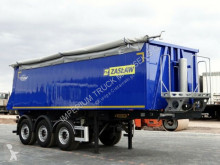 semi reboque Zasław TIPPER 32 M3 / LIFTED AXLE /ALUMINIUM MULD /