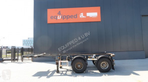 semirremolque Pacton 20FT, BPW, ADR (EXII/EXIII/ FL/AT/OX), NL-chassis, APK 02/2020