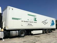 semirimorchio Krone 3-Achs Koffer Auflieger Portaltür Doppelstock