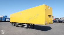 Floor BOX, Double Stock, full chassis semi-trailer